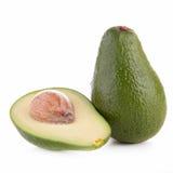 Ruwe avocado royalty-vrije stock fotografie