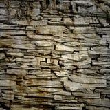 Ruwe bakstenen muur Stock Foto