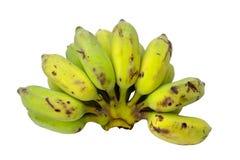 Ruwe banaan Royalty-vrije Stock Afbeeldingen