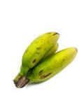Ruwe banaan Stock Afbeelding