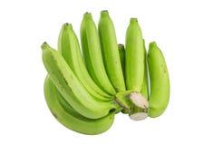 Ruwe bananen Royalty-vrije Stock Foto's