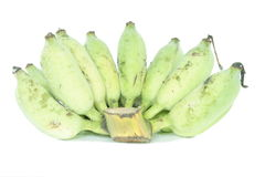 Ruwe bananen Royalty-vrije Stock Afbeelding