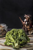 Ruwe Broccoli Royalty-vrije Stock Foto's