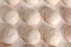 Ruwe broden van brood Royalty-vrije Stock Foto