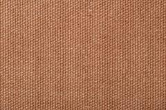 Ruwe bruine canvasachtergrond Royalty-vrije Stock Foto's