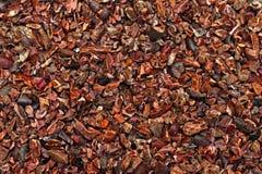Ruwe cacao royalty-vrije stock afbeeldingen