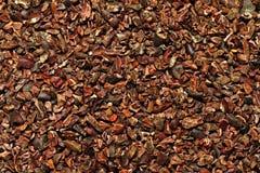 Ruwe cacao royalty-vrije stock foto