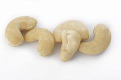 Ruwe cashewnoot Stock Afbeeldingen