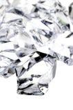 Ruwe diamanten stock foto's