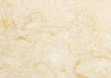 Ruwe document textuur - oude pakpapierachtergrond Stock Foto