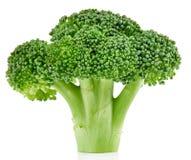 Ruwe geïsoleerde broccoli royalty-vrije stock foto's