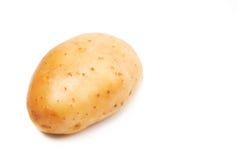 Ruwe geïsoleerdel aardappel Royalty-vrije Stock Foto's