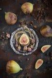 Ruwe gediende fig. stock afbeelding