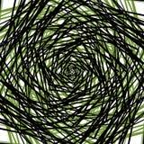 Ruwe gespannen patroon of textuur in één kleur en zwarte Royalty-vrije Stock Foto