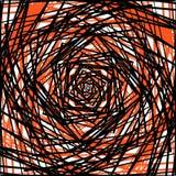 Ruwe gespannen patroon of textuur in één kleur en zwarte Stock Foto's