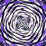 Ruwe gespannen patroon of textuur in één kleur en zwarte Royalty-vrije Stock Afbeelding