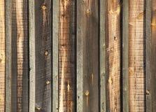 Ruwe Gezaagde Houten Muur Stock Fotografie