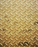Ruwe gouden diamantplaat Royalty-vrije Stock Afbeelding