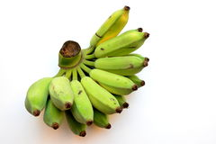 Ruwe groene bananen Royalty-vrije Stock Afbeelding