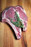 Ruwe het vlees van het lapje vlees Royalty-vrije Stock Foto's