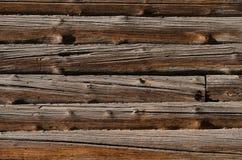 ruwe houten bruine raad, horizontaal zij aan zij geschikt royalty-vrije stock foto