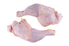 Ruwe kippenbenen Stock Foto's