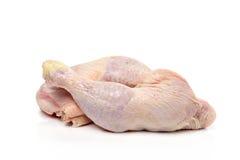 Ruwe kippenbenen Stock Afbeelding