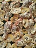 Ruwe kippenbenen en aardappels Royalty-vrije Stock Foto