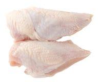 Ruwe kippenborst Stock Foto