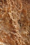 Ruwe kleioppervlakte Stock Fotografie