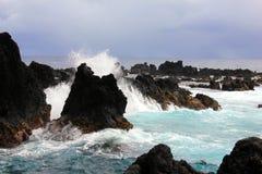 Ruwe kustlijn Hawaï Royalty-vrije Stock Fotografie