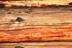 Ruwe logboekachtergrond Royalty-vrije Stock Afbeeldingen