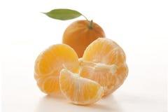 Ruwe mandarijn royalty-vrije stock afbeeldingen