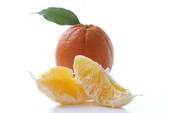 Ruwe mandarijn stock afbeelding