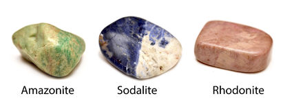 Ruwe mineralen Stock Afbeeldingen