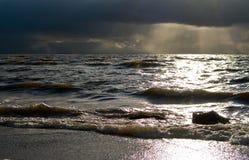 Ruwe Overzees stock fotografie