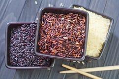 Ruwe rijst Stock Fotografie