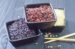 Ruwe rijst Stock Afbeeldingen