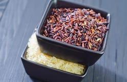Ruwe rijst Royalty-vrije Stock Fotografie