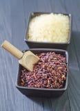 Ruwe rijst Stock Foto
