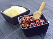 Ruwe rijst Royalty-vrije Stock Afbeelding