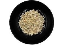 Ruwe Rode miereneieren: zijn gekookt in types van voedsel zoals Kruidig Ruw Ant Egg Salad schijnt de populairste Thaise schotels  royalty-vrije stock afbeeldingen