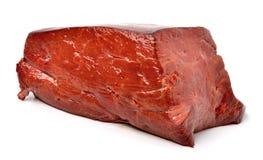 Ruwe Rundvleeslever Stock Foto