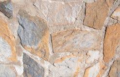 Ruwe steenmuur royalty-vrije stock foto