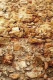 Ruwe steenmuur   Stock Afbeeldingen