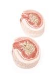 Ruwe varkensvlees buik en het vullen Royalty-vrije Stock Afbeelding