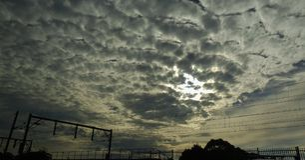Ruwe wolken Stock Foto's