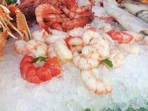 Ruwe Zeevruchten Stock Afbeelding