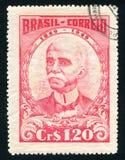 Ruy Barbosa напечатанное Бразилией стоковые изображения