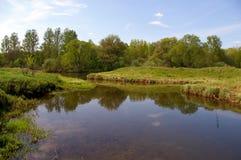 ruza реки Стоковая Фотография